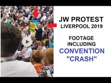 "Convention Protest and ""Crash"" Liverpool 2019"