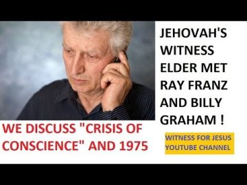Talking to a JW elder who met Ray Franz and Billy Graham (AUDIO)