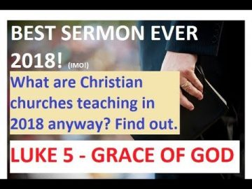 Awesome Sermon!  DO NOT MISS THIS!  2018