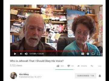 Kim Mikey Video Rebuttal !  Who is Jehovah?