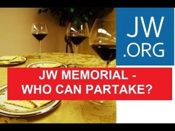 JW Memorial '19 - Kings and Priests should partake!